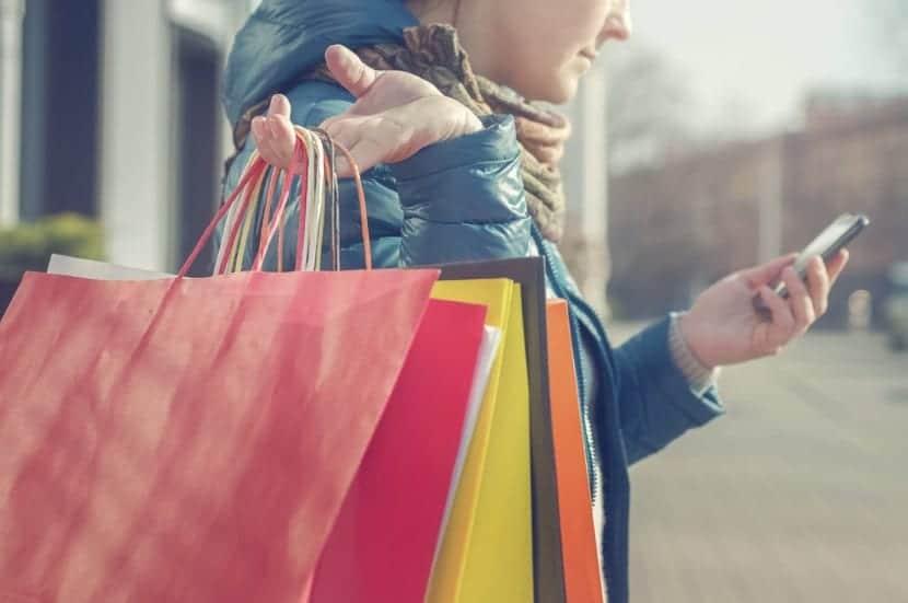 persona adicta a las compras