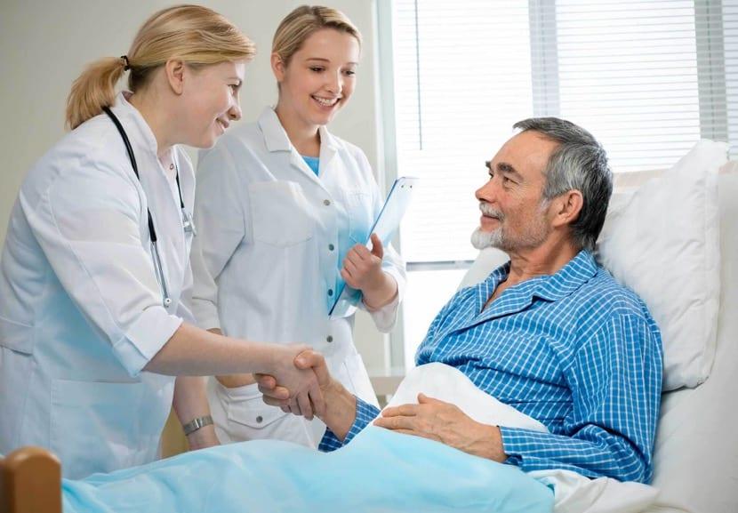 Diagnóstico de afasia en el hospital