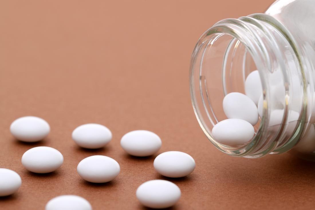 bote con pastillas antidepresivas