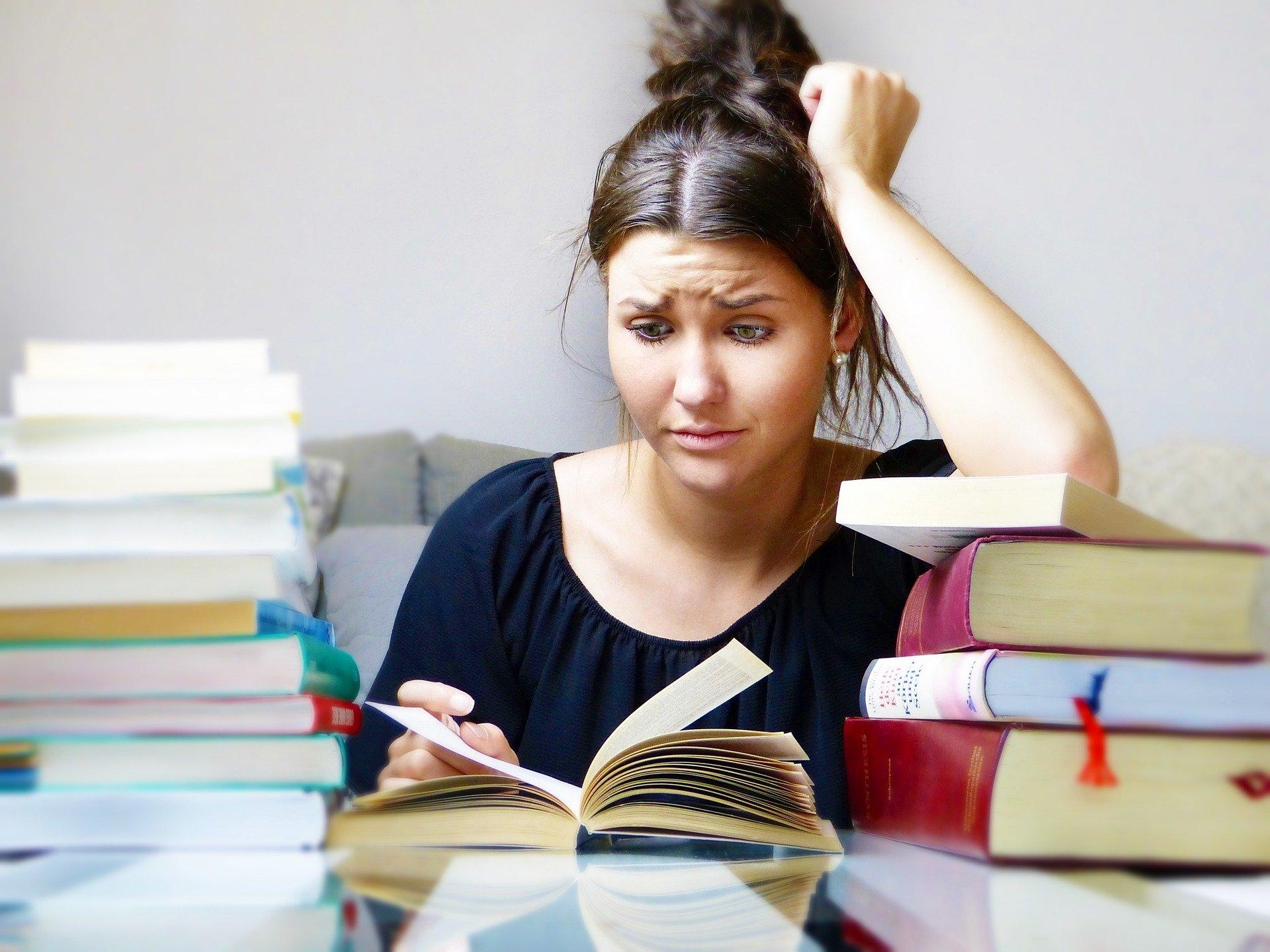 Necesitas concentrarte cuando estudias