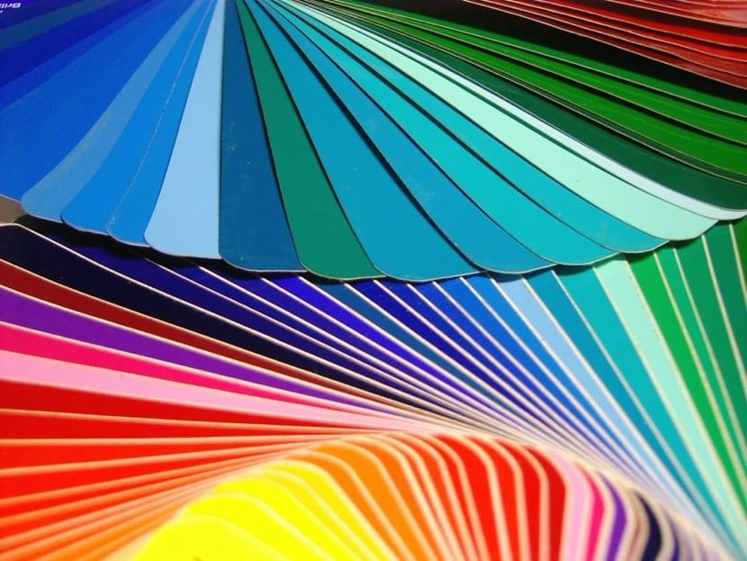 cartulinas para pensar en la colorterapia