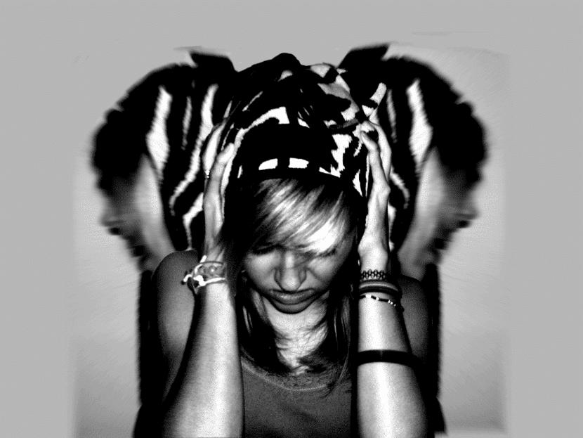esquizofrenia chica
