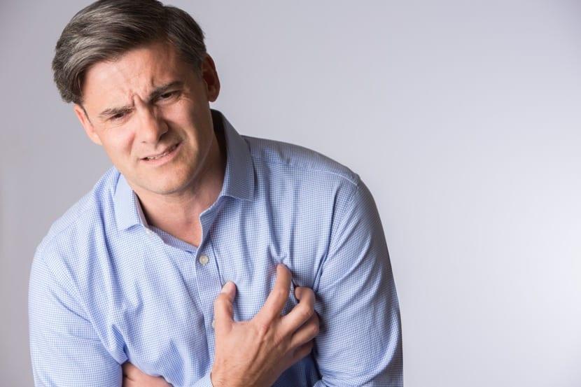 dolor en el esternón