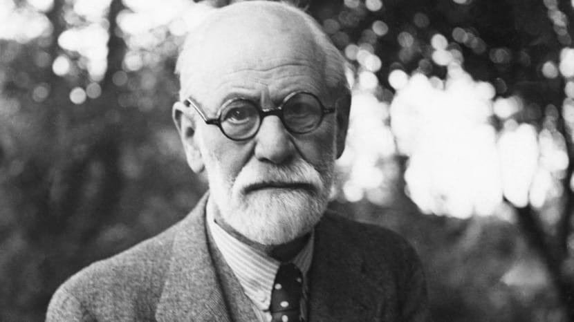 Sigmund Freud en el campo