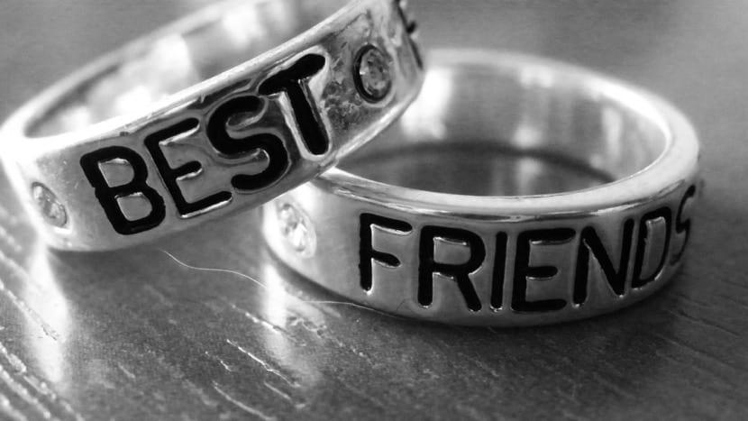 anillo de mejores amigos