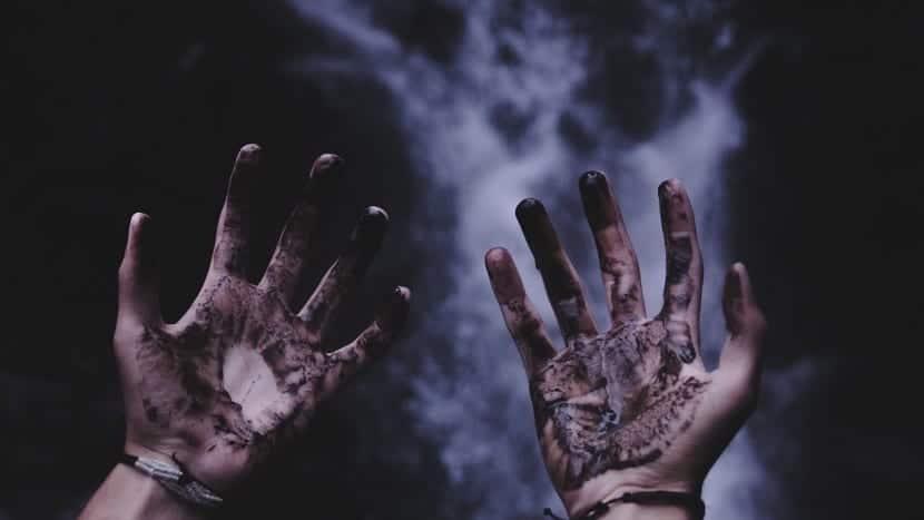 pánico al tener las manos sucias