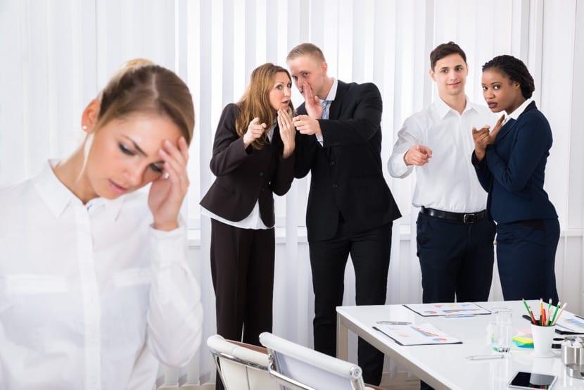 mobbing en el trabajo