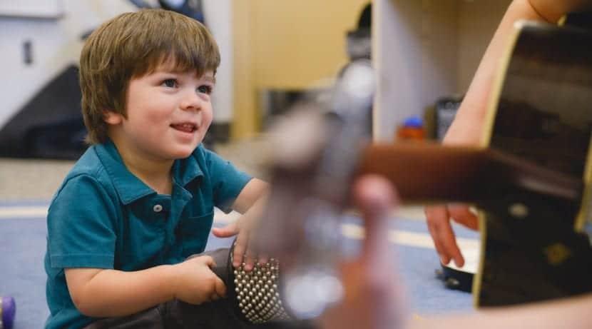 Musicoterapia con niños pequeños