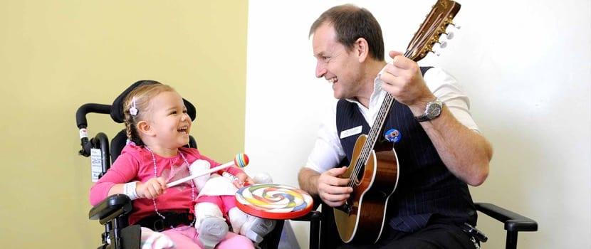 Musicoterapia con niños con discapacidad