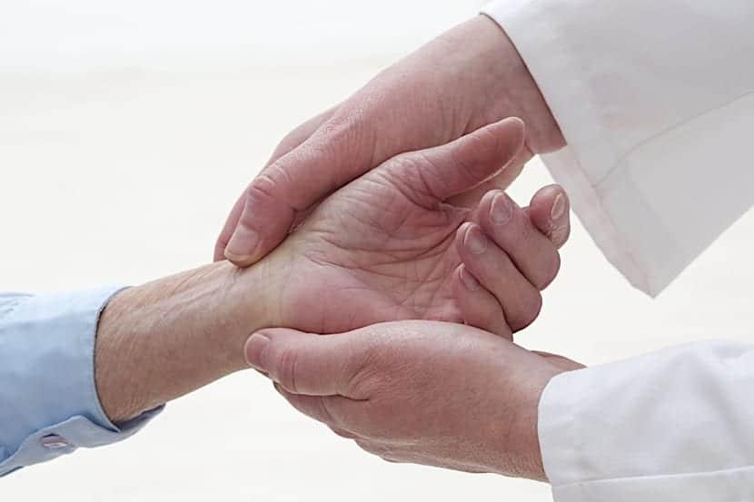 parestesias en la mano