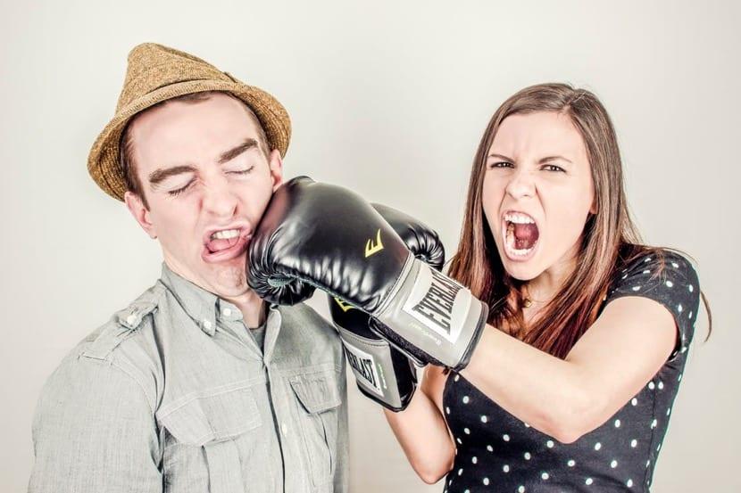 pasivo agresivo luchando