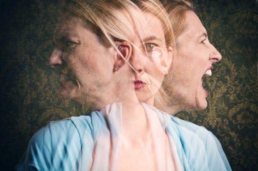 mujer con psicopatia