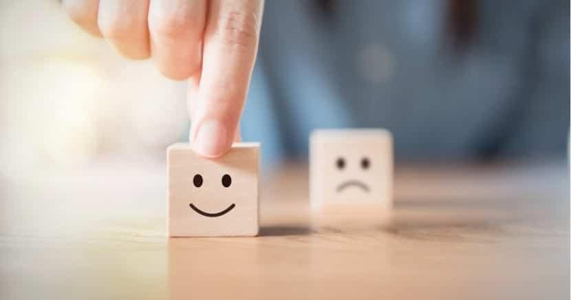 felicidad y tristeza con serotonina