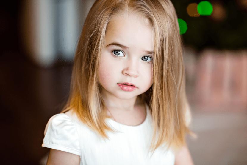 nena pequena con sindrome de turner