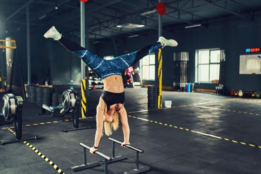 sobreentrenamiento en el gimnasio