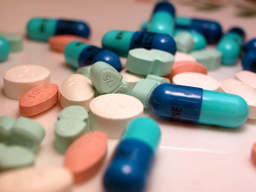 pastillas antidepresivas de diferentes tipos