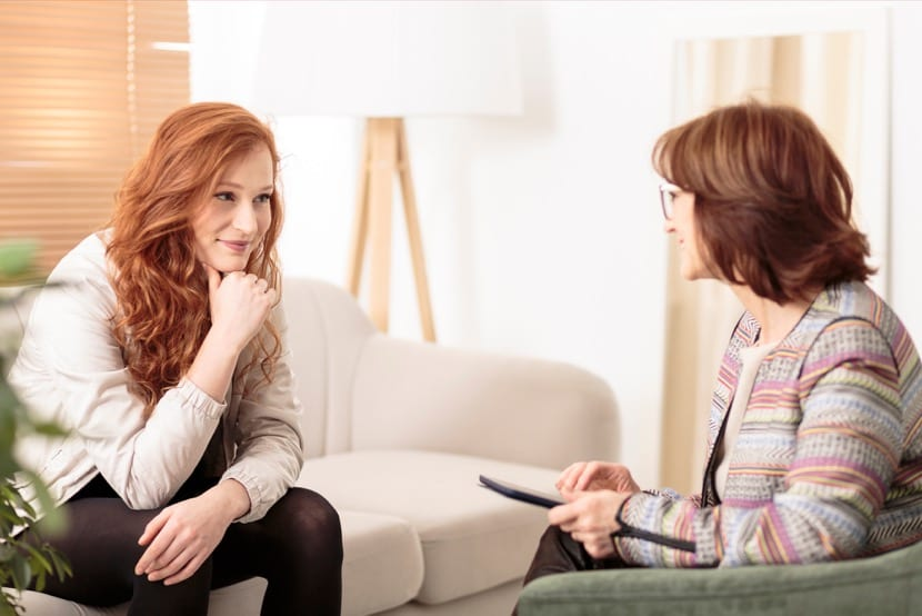 mujeres que hacen terapia