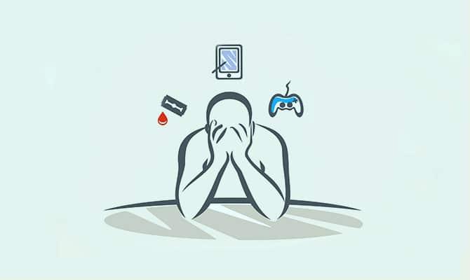 persona adicta a los juegos
