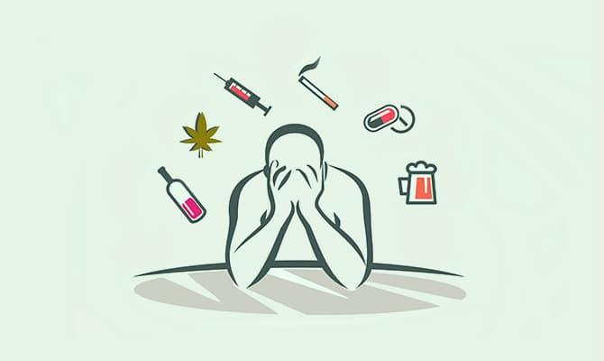 persona adicta a las sustancias